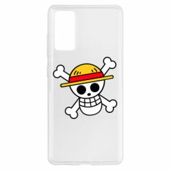 Чохол для Samsung S20 FE Anime logo One Piece skull pirate