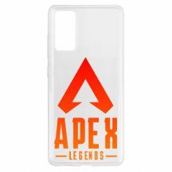 Чохол для Samsung S20 FE Apex legends gradient logo