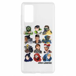 Чохол для Samsung S20 FE Apex legends heroes