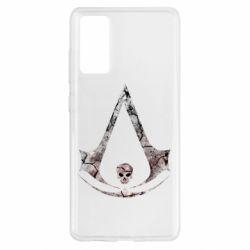Чехол для Samsung S20 FE Assassins Creed and skull