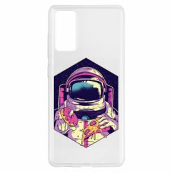 Чохол для Samsung S20 FE Astronaut with donut and pizza
