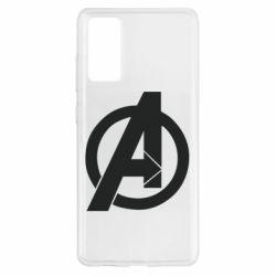 Чохол для Samsung S20 FE Avengers logo