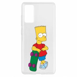Чохол для Samsung S20 FE Bart Simpson