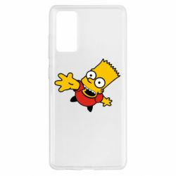 Чехол для Samsung S20 FE Барт Симпсон