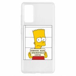 Чехол для Samsung S20 FE Барт в тюряге