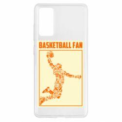 Чохол для Samsung S20 FE Basketball fan