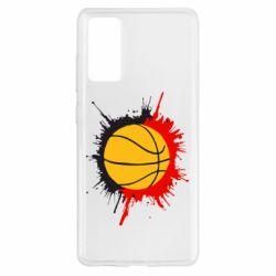 Чохол для Samsung S20 FE Баскетбольний м'яч