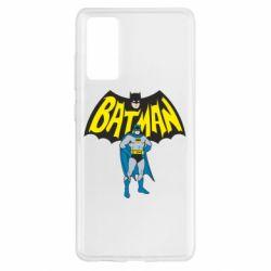 Чехол для Samsung S20 FE Batman Hero
