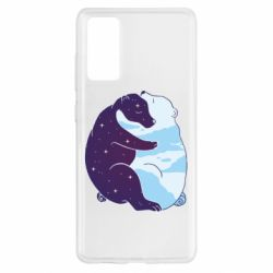 Чохол для Samsung S20 FE Bear day and night