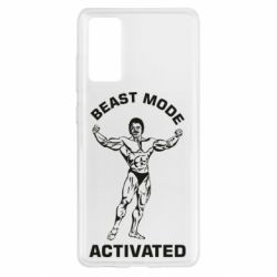Чехол для Samsung S20 FE Beast mode activated