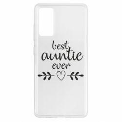 Чохол для Samsung S20 FE Best auntie ever