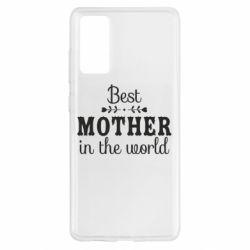 Чохол для Samsung S20 FE Best mother in the world