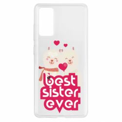 Чохол для Samsung S20 FE Best sister ever