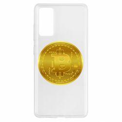 Чохол для Samsung S20 FE Bitcoin coin