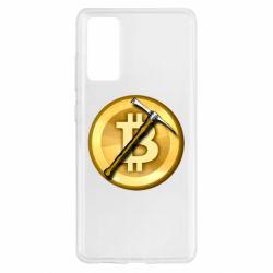 Чохол для Samsung S20 FE Bitcoin Hammer