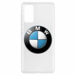 Чехол для Samsung S20 FE BMW Logo 3D