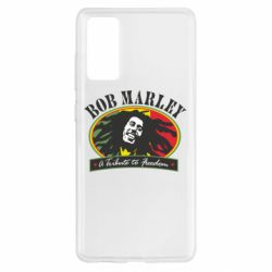 Чехол для Samsung S20 FE Bob Marley A Tribute To Freedom