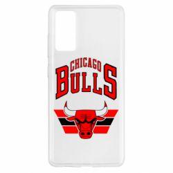 Чохол для Samsung S20 FE Великий логотип Chicago Bulls