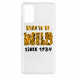 Чохол для Samsung S20 FE Born to be wild sinse 1984