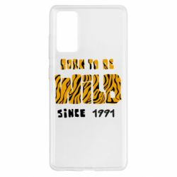 Чохол для Samsung S20 FE Born to be wild sinse 1991