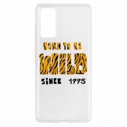 Чехол для Samsung S20 FE Born to be wild sinse 1995