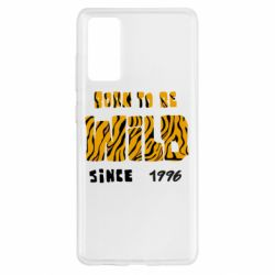 Чохол для Samsung S20 FE Born to be wild sinse 1996
