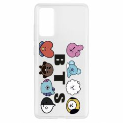 Чохол для Samsung S20 FE Bts emoji