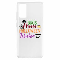 Чохол для Samsung S20 FE Bugs Hisses and Halloween Wishes
