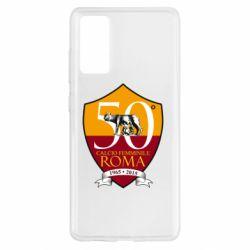 Чохол для Samsung S20 FE Calcio Femminile Roma