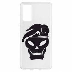 Чохол для Samsung S20 FE Call of Duty Black Ops logo