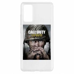 Чохол для Samsung S20 FE Call of Duty WW2 poster