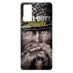 Чехол для Samsung S20 FE Call of Duty WWII