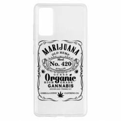 Чохол для Samsung S20 FE Cannabis label