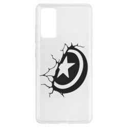 Чохол для Samsung S20 FE Captain America shield