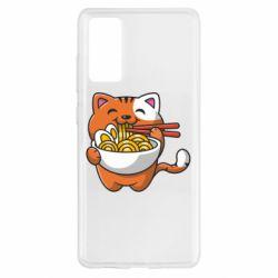 Чохол для Samsung S20 FE Cat and Ramen