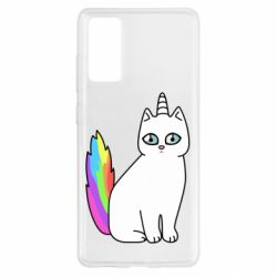 Чехол для Samsung S20 FE Cat Unicorn
