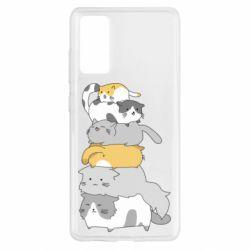Чохол для Samsung S20 FE Cats