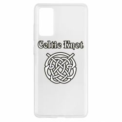 Чохол для Samsung S20 FE Celtic knot black and white