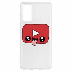 Чохол для Samsung S20 FE Cheerful YouTube