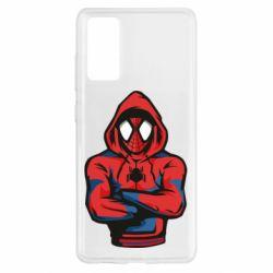 Чохол для Samsung S20 FE Людина павук в толстовці