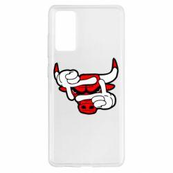 Чехол для Samsung S20 FE Chicago Bulls бык