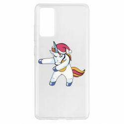 Чохол для Samsung S20 FE Christmas Unicorn