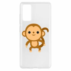 Чохол для Samsung S20 FE Colored monkey