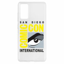 Чохол для Samsung S20 FE Comic-Con International: San Diego logo