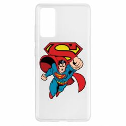 Чохол для Samsung S20 FE Comics Superman