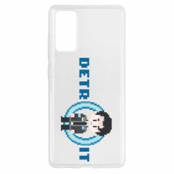 Чохол для Samsung S20 FE Connor from the game Detroit: Become a Man