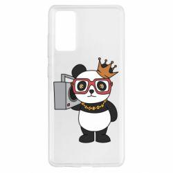 Чохол для Samsung S20 FE Cool panda
