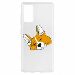 Чохол для Samsung S20 FE Corgi is dozing