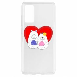 Чохол для Samsung S20 FE Couple Bears