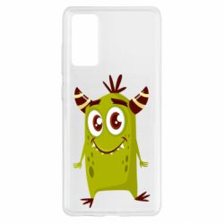 Чохол для Samsung S20 FE Cute green monster